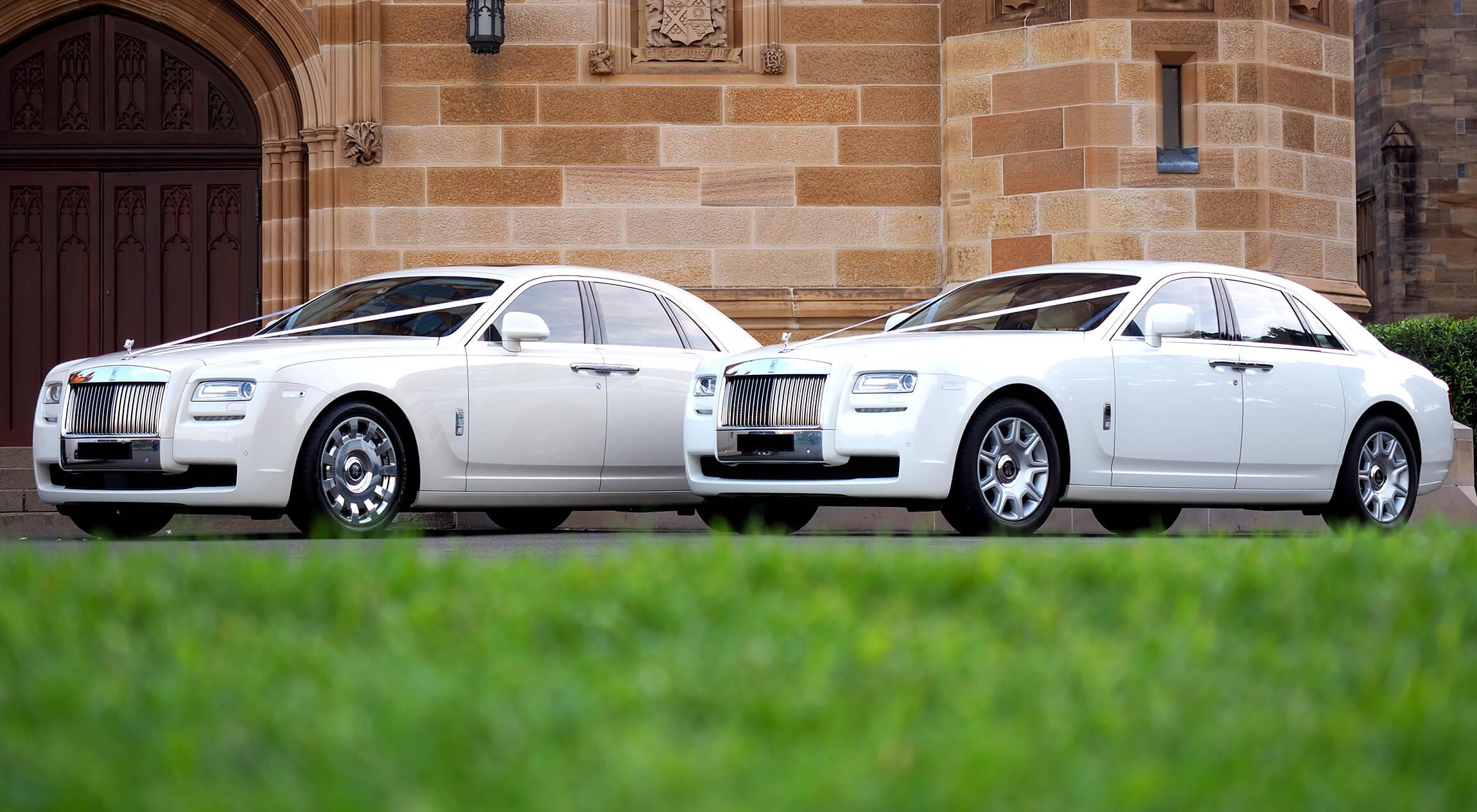 Rolls 2 Pack Luxury Wedding Cars Sydney